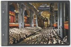 Skan z Kroniki Polskiego Niższego Seminarium Duchownego w Paryżu. Na zdjęciu II powszechnego soboru watykańskiego.