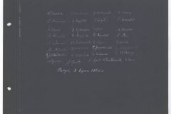 Skan z Kroniki Polskiego Seminarium Duchownego w Paryżu 1945-1951