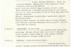 Skan z Kroniki Polskiego Seminarium Duchownego w Paryżu 1957-1958