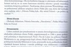 M. Siama-Salmon, Milenium, czyli performatywne budowanie pamięci. Obchody tysiąclecia chrztu Polski w środowiskach polonijnych na północy Francji