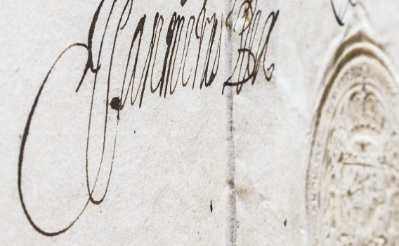 Dokument króla Jana Kazimierza z pieczęcią z 1649 roku