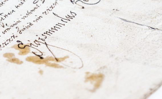 Dokument Zygmunta III Wazy z 1627 roku